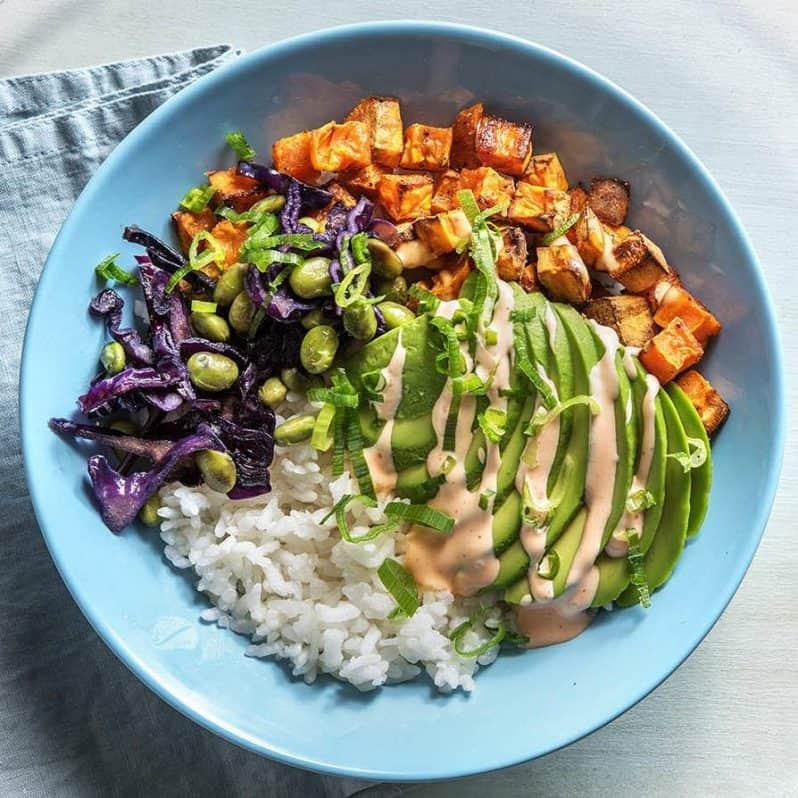 chefs plate vegan meal kit