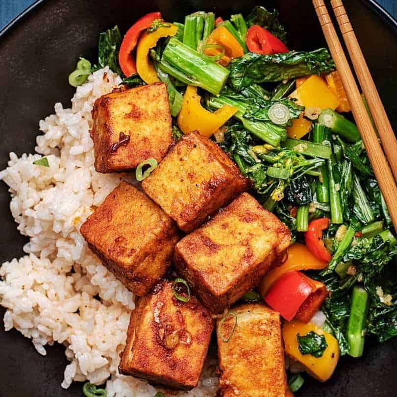 goodfood Gochujang Glazed Crispy Tofu meal kit