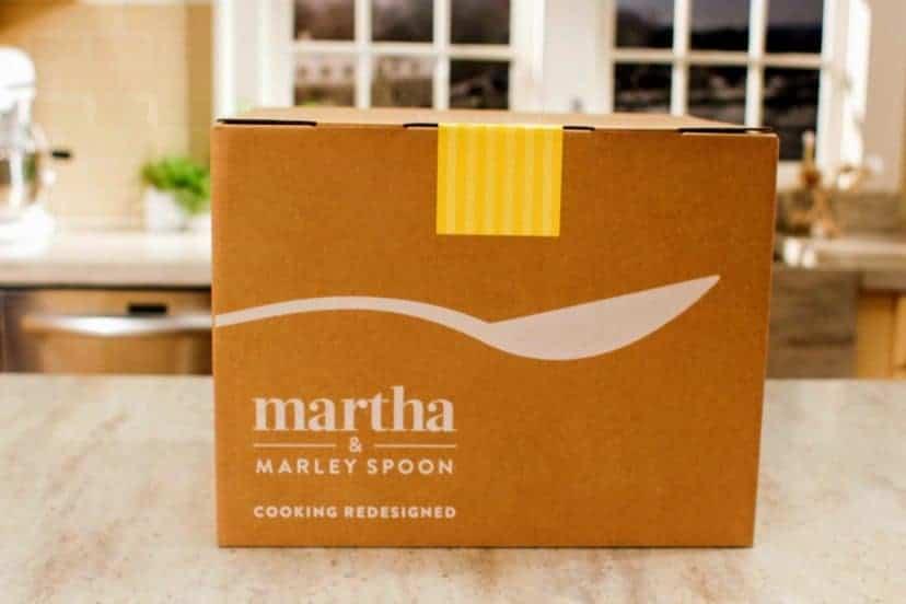 martha and marley spoon box