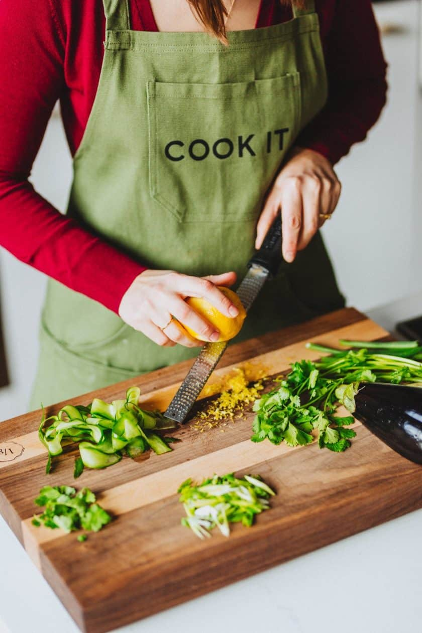 meal kit preparation with cook it