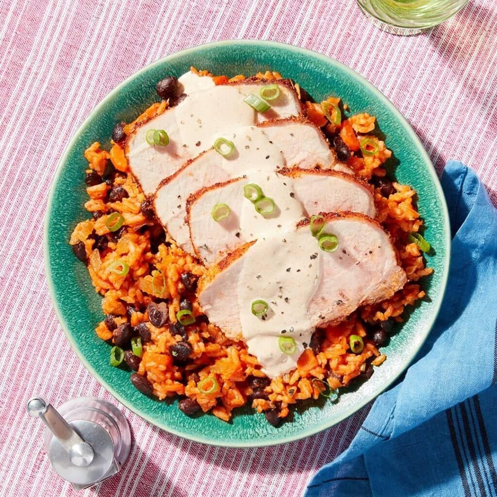 blue apron pork roast
