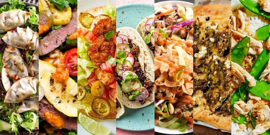 Blue Apron competitors meals