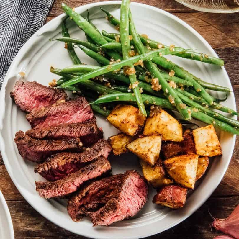 goodfood steak meal kit
