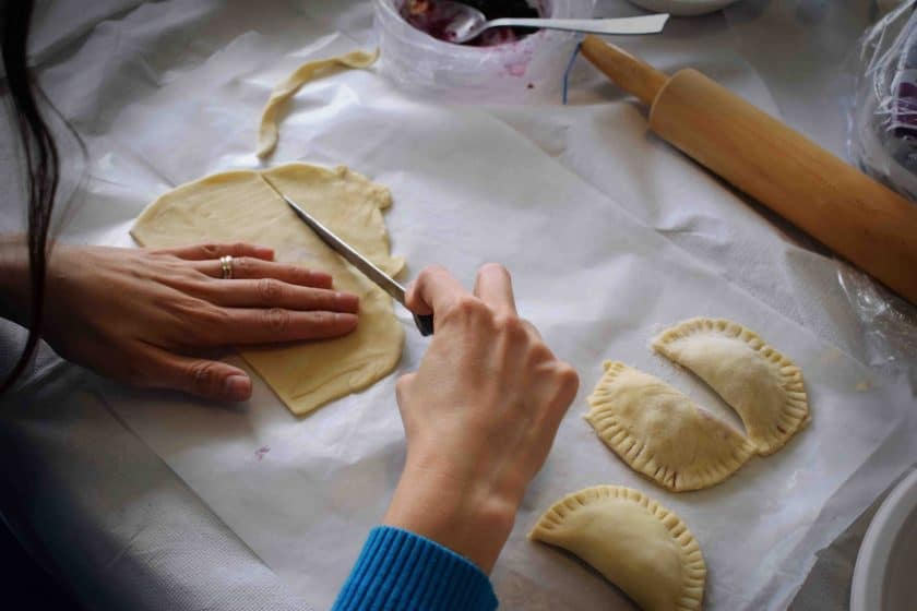 meal kit preparation