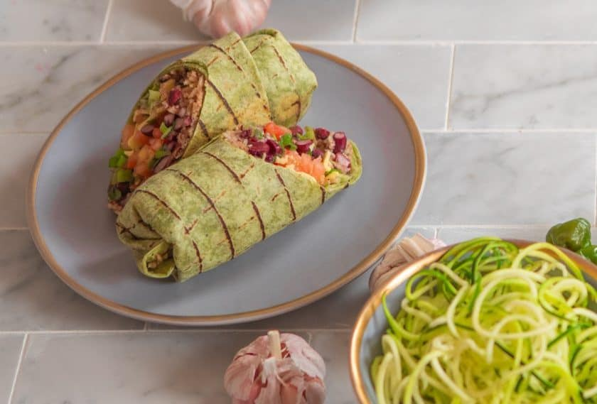 power kitchen vegan burrito