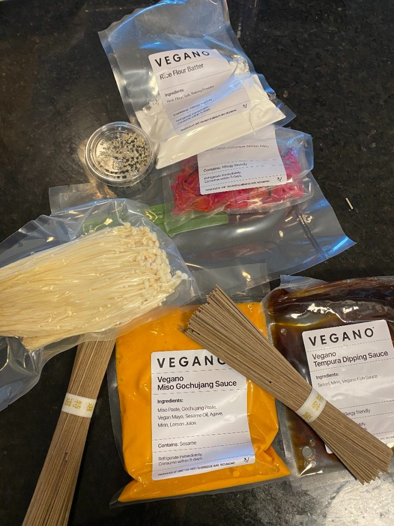 Vegano Foods Vegan Meal Kit