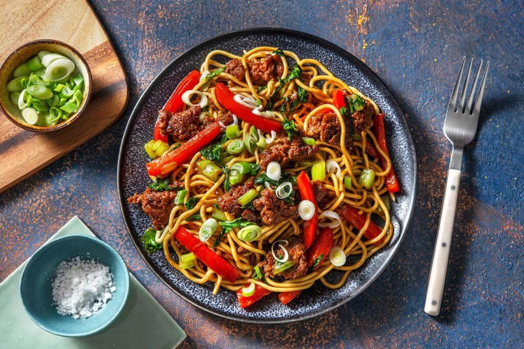 HelloFresh Meal from kit available in Montreal