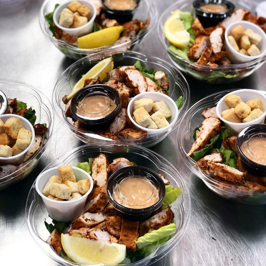 Chipotle Caesar Salad from MealKraft